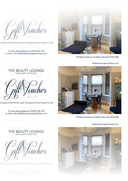 Beauty Gift Vouchers